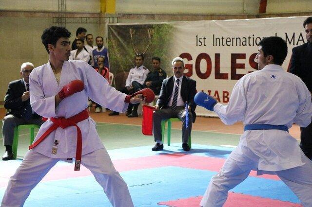 خاتمه مسابقات بین المللی کاراته گلستان کاپ