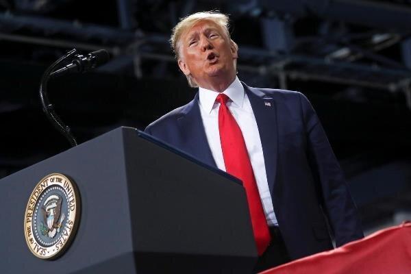 نیمی از مردم آمریکا خواهان برکناری ترامپ از قدرت هستند